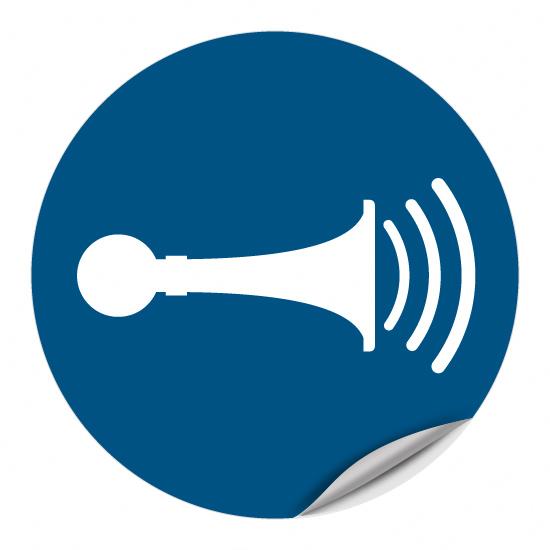 Akustisches Signal geben M029
