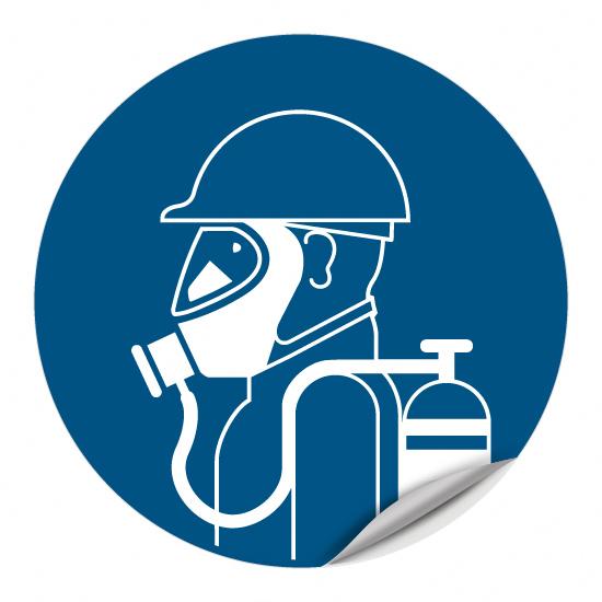 Atemschutz-Isoliergerät benutzen