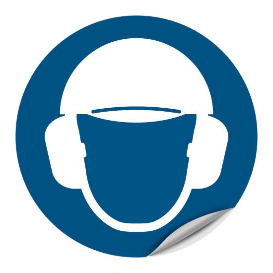 Gehöhr- und Kopfschutz benutzen