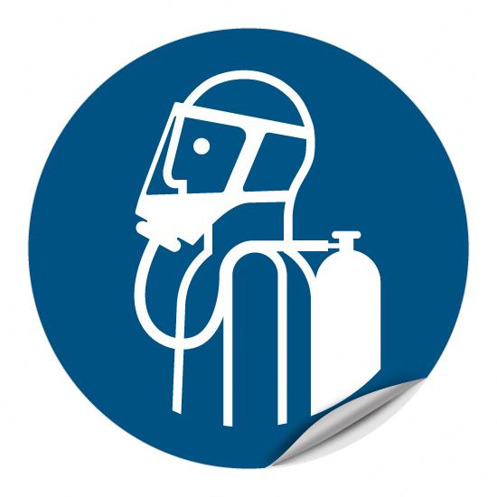 Umgebungsluftunabhängigen Atemschutz benutzen M047