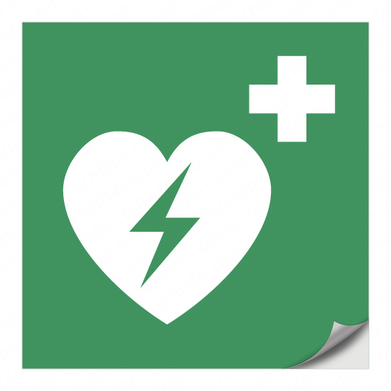 Automatisierter externer Defibrillator (AED) E010
