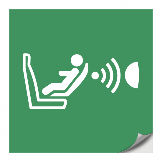 Erkennungssystem für das Vorhandensein und die Orientierung eines Kindersitzes E014