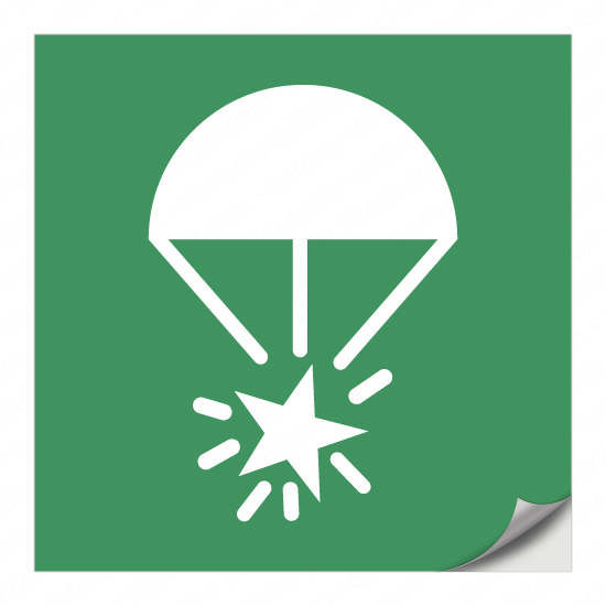 Fallschirm-Signalrakete E049
