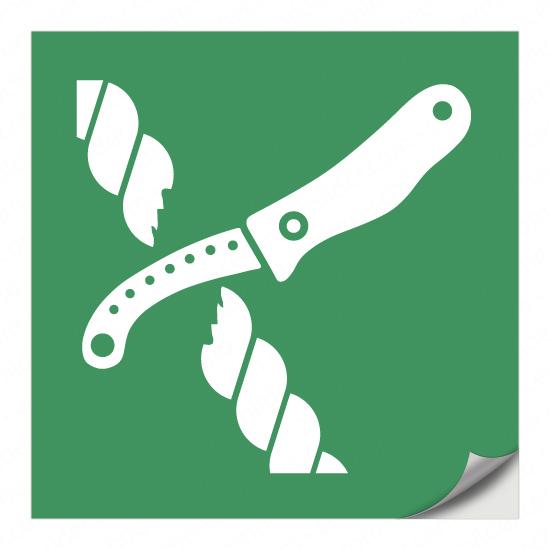 Messer für Rettungsfloßausrüstung E035