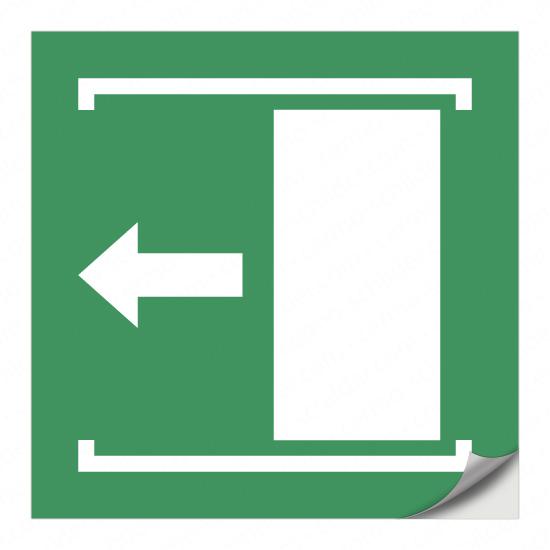 Schiebetür öffnet nach links E034