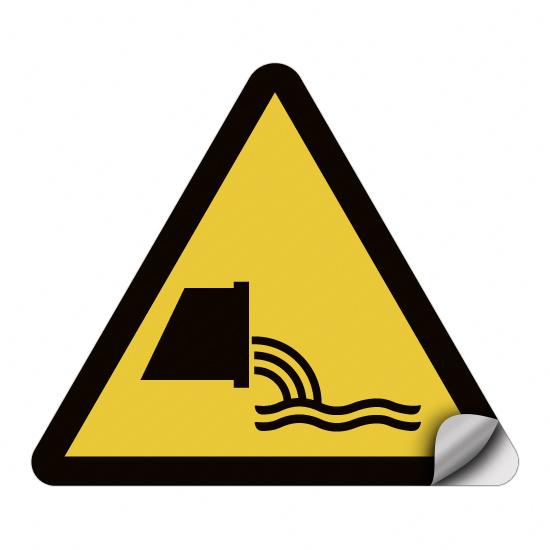 Warnung vor Abwassereinleitung WSW013