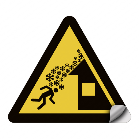 Warnung vor Dachlawine W040