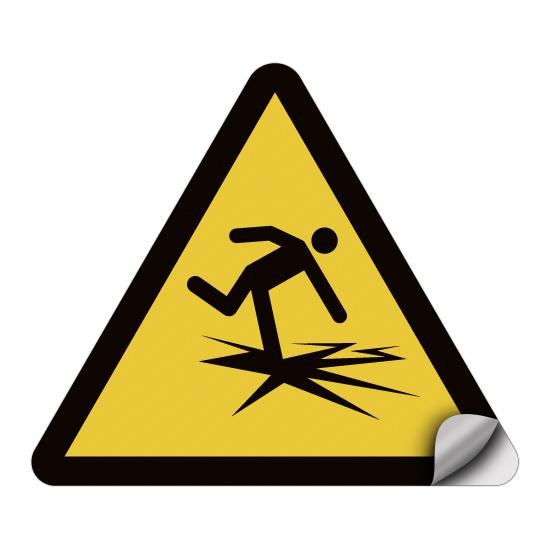 Warnung vor dünnem Eis WSW001