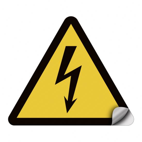 Warnung vor elektrischer Spannung W012