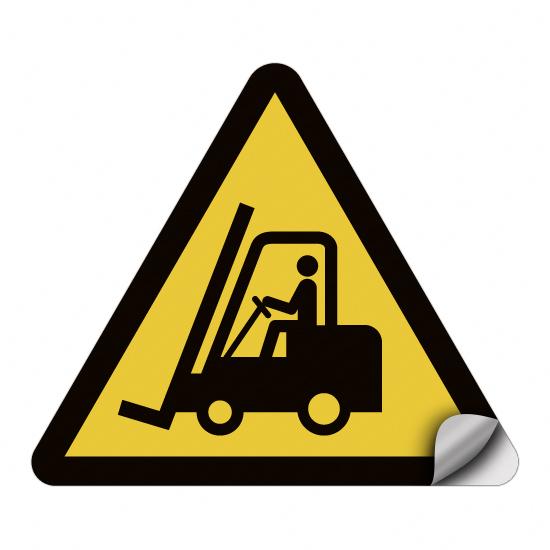 Warnung vor Flurförderzeugen W014
