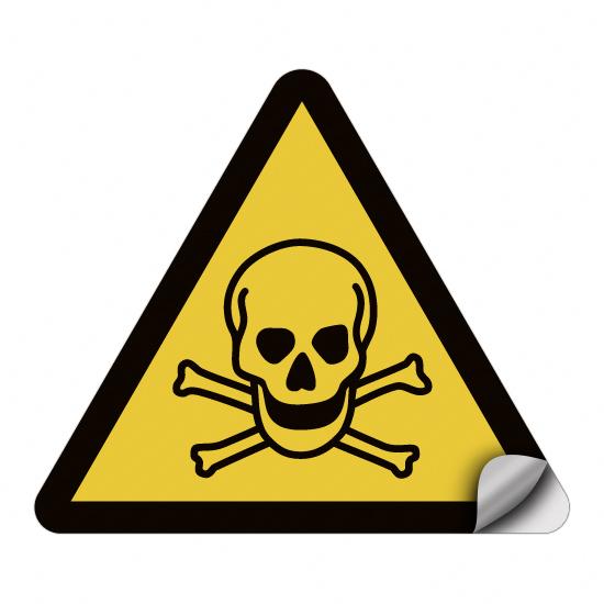 Warnung vor giftigen Stoffen W016