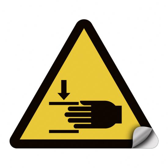 Warnung vor Handverletzungen W024
