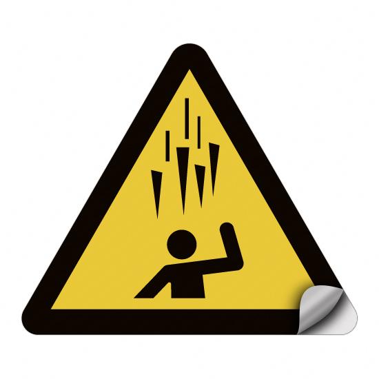 Warnung vor herabfallenden Eiszapfen W039