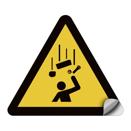 Warnung vor herabfallenden Gegenständen W035