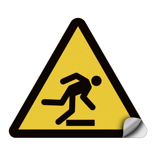 Warnung vor Hindernissen am Boden W007