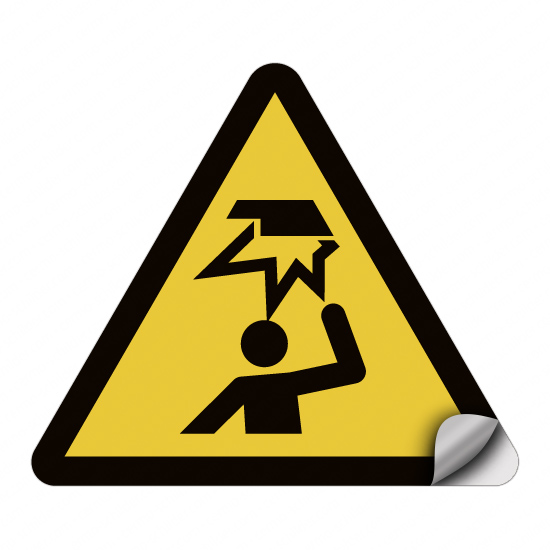 Warnung vor Hindernissen im Kopfbereich W020