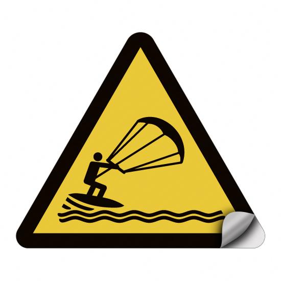Warnung vor Kitesurfern WSW020