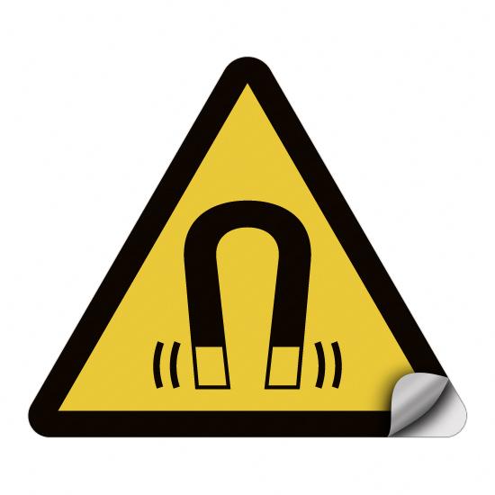 Warnung vor magnetischem Feld W006