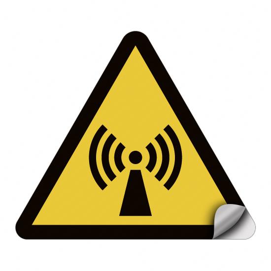 Warnung vor nicht ionisierender Strahlung W005