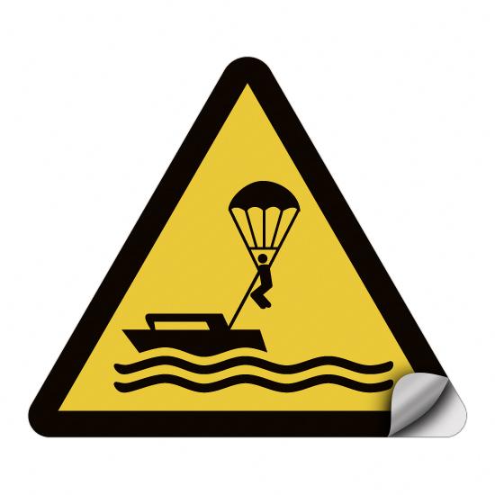 Warnung vor Parasailing WSW021
