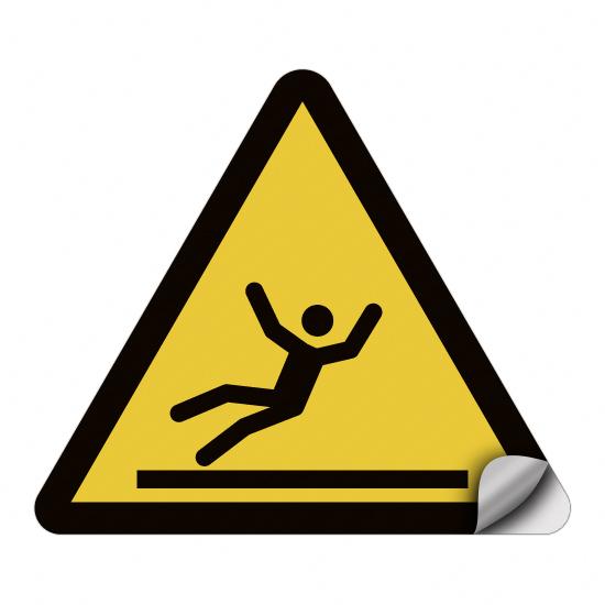 Warnung vor Rutschgefahr W011