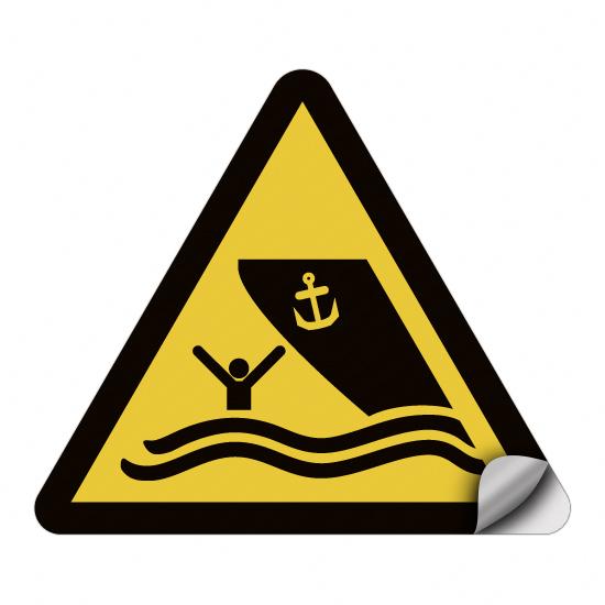 Warnung vor Schiffsverkehr WSW016