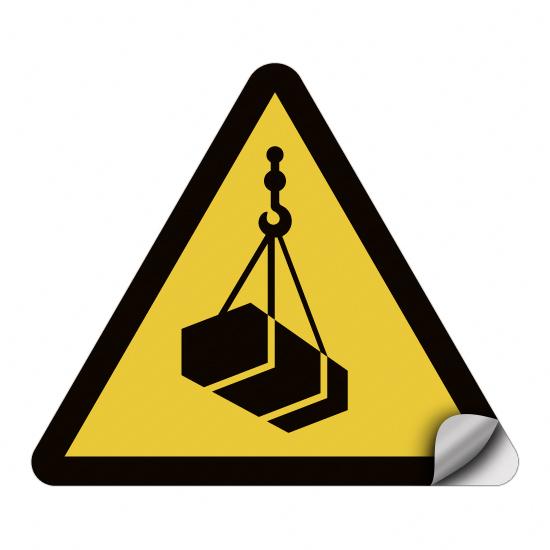 Warnung vor schwebender Last W015