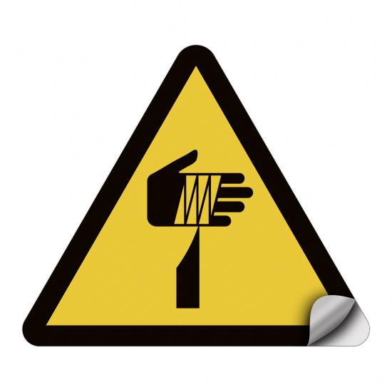 Warnung vor spitzem Gegenstand W022