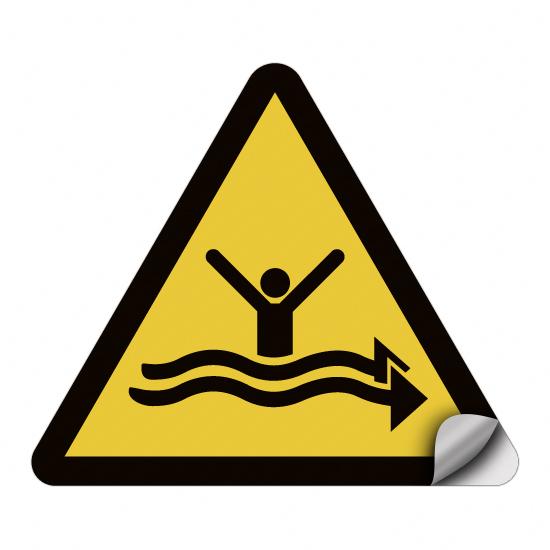 Warnung vor starker Strömung WSW015