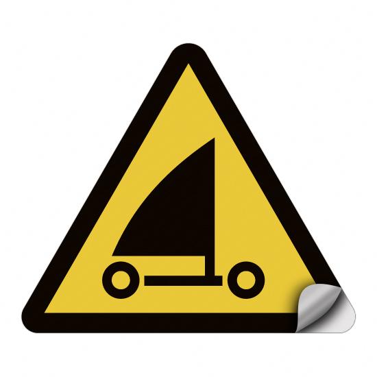 Warnung vor Strandseglern WSW017