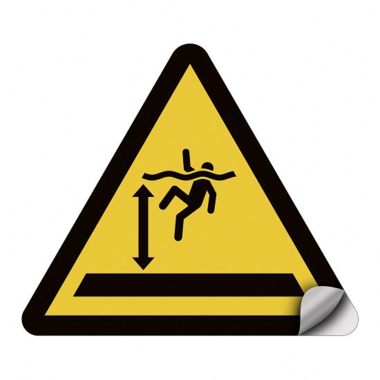 Warnung vor tiefem Wasser WSW005