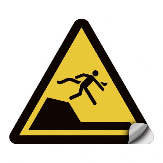 Warnung vor unvermittelter Tiefenänderung in Schwimm- oder Freizeitbecken WSW008