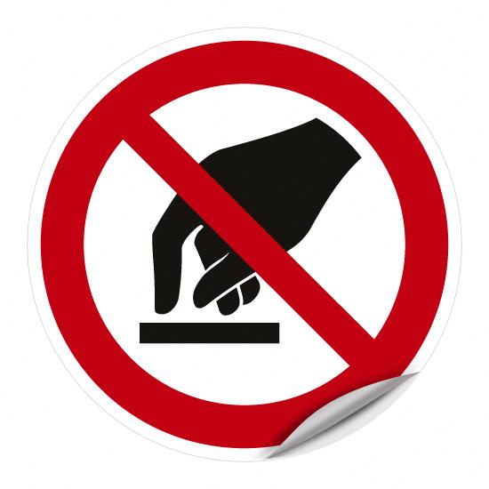 Berühren verboten P010