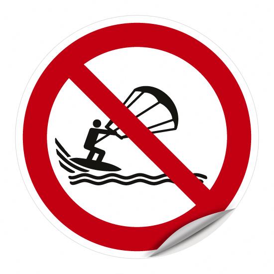 Kitesurfen verboten WSP018