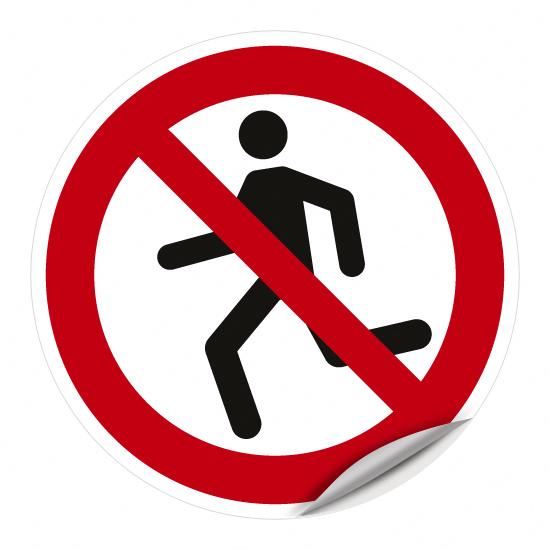 Laufen verboten WSP001
