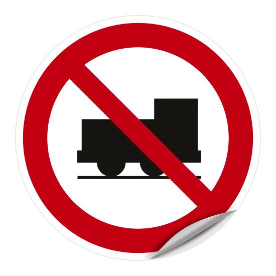 Weiterfahrt für Lokomotiven verboten